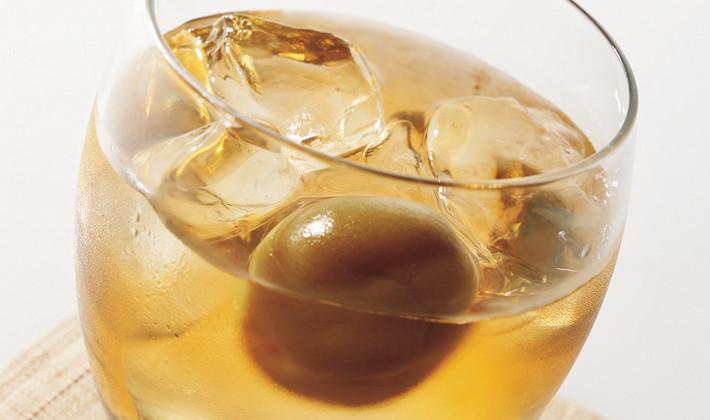梅酒オンザロック