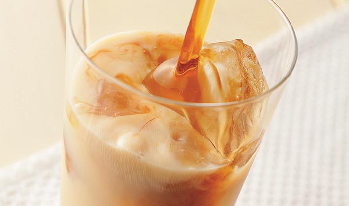 黒糖梅酒ミルク