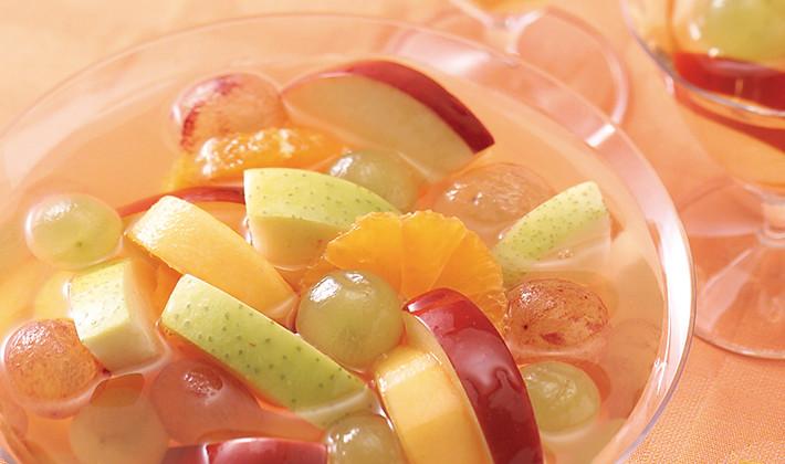 梅酒フルーツポンチ