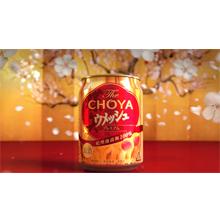 The CHOYA ウメッシュ CM