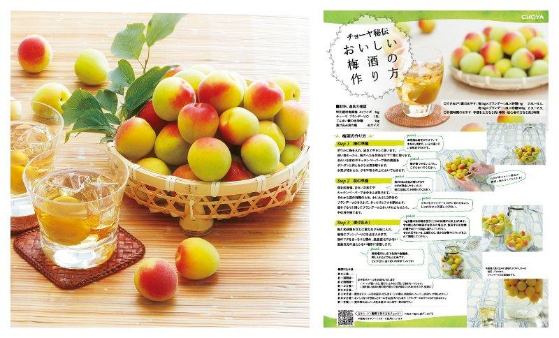 梅酒とレシピ イメージ