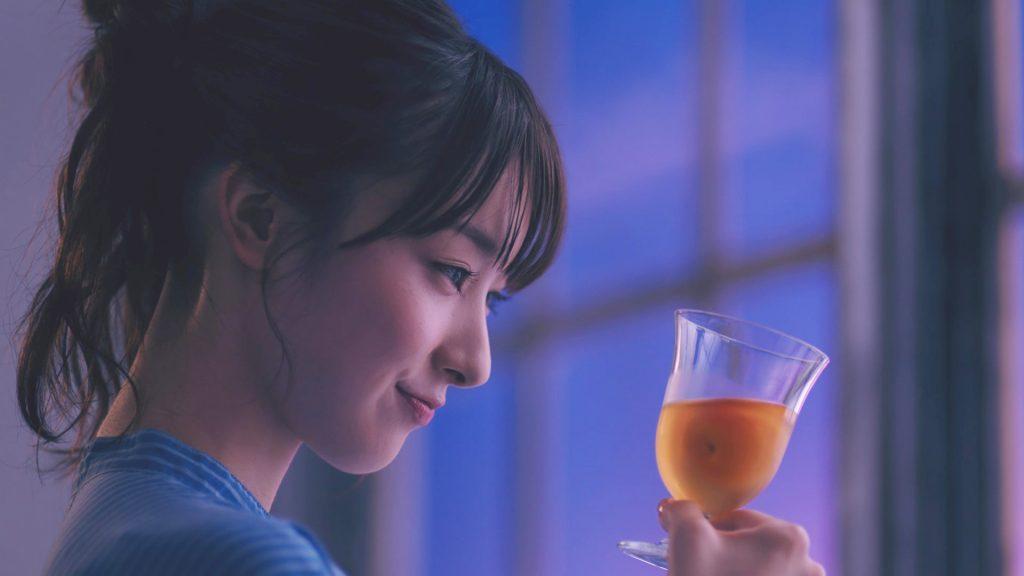 The CHOYA「フローズン梅」篇